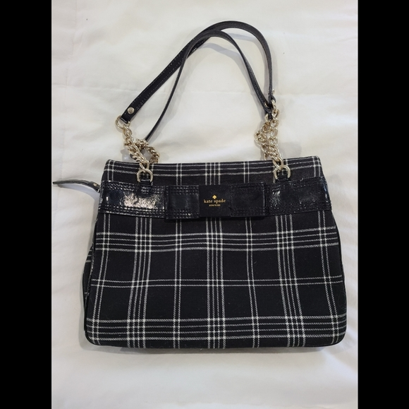 kate spade Handbags - Kate Spade Plaid Darcy Shoulder Bag